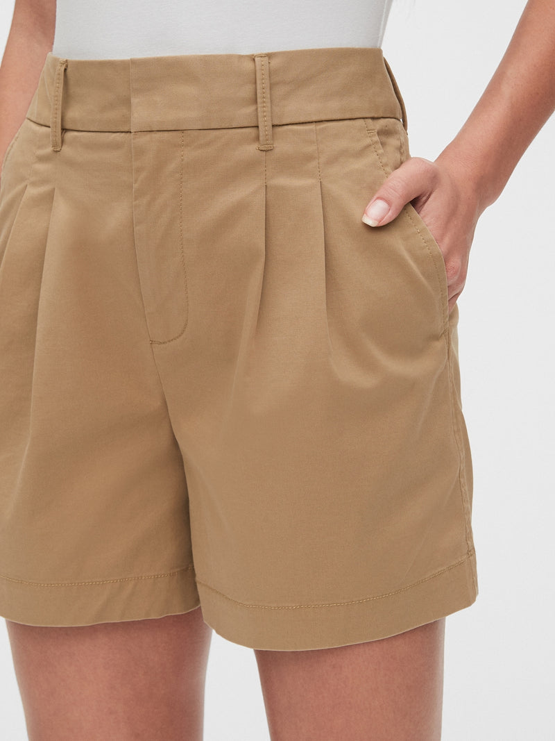 "Gap 5"" Pleated Khaki Short - Mojave 235"