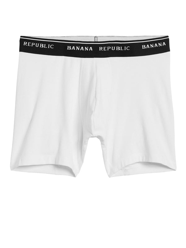 Boxer Supima Boxer Brief-Optic White 900