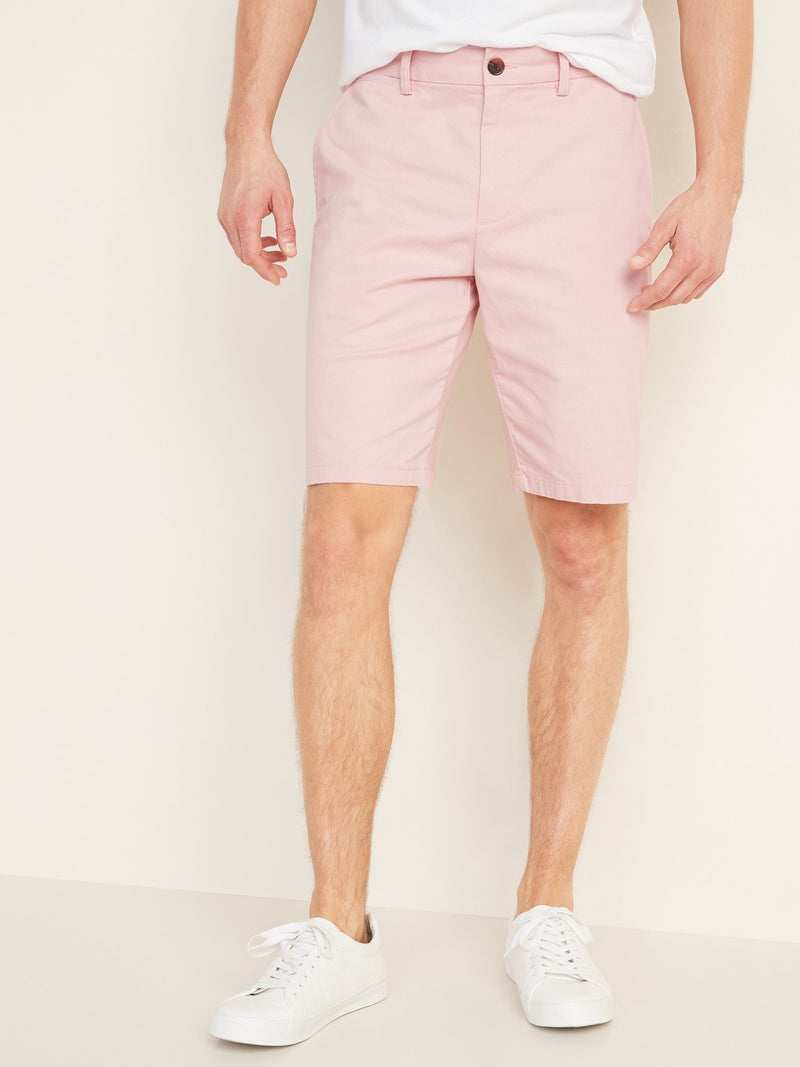Shorts-Ultimate Slim 10 Inch - Stretch-Light Pink