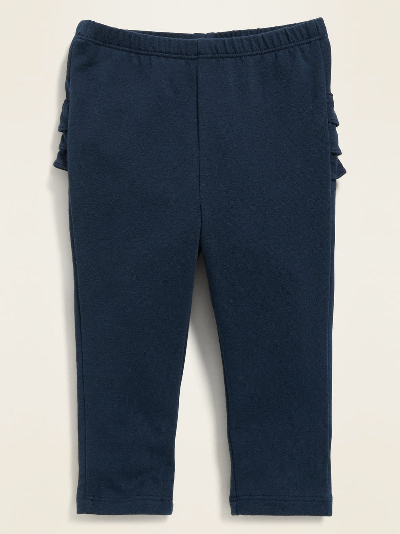 ON Pantalón Ruffle-Trim Leggings For Baby - Lost At Sea Navy