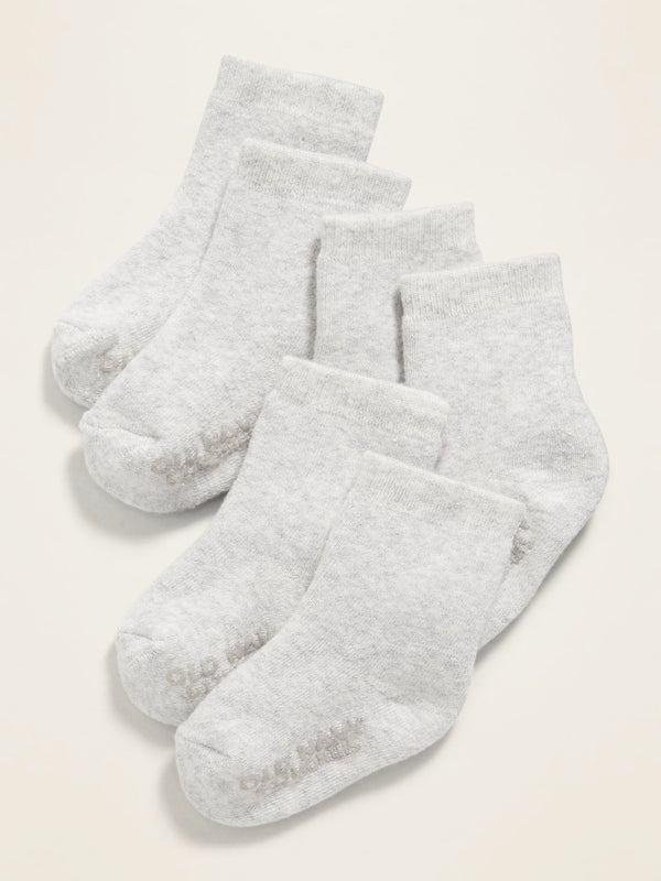 ON Accesorio Crew Socks 3-Pack For Baby - Light Gris