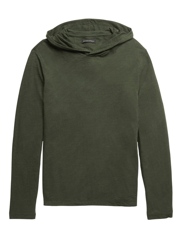 Sweater Hoodie-Forest Green 17-0230