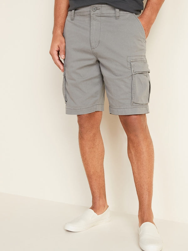 Shorts Lived In Cargo Stretch-Greystone