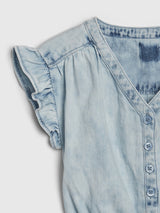 Gap Toddler Denim Romper - Denim