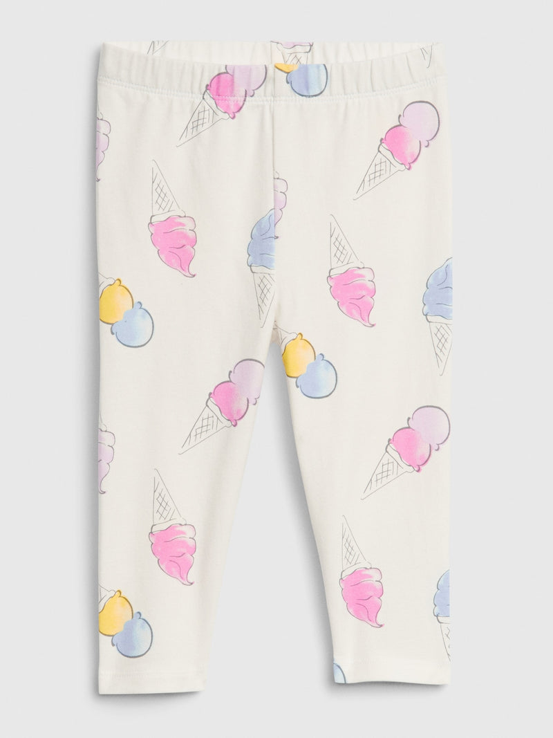 Gap Toddler Everyday Capri Leggings - Ice Cream Cone
