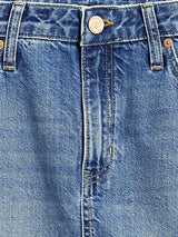 Enagua-Denim Mini Indigo-Light Wash
