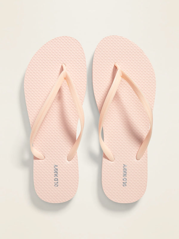 ON Pop-Color Flip-Flops for Women - Blush