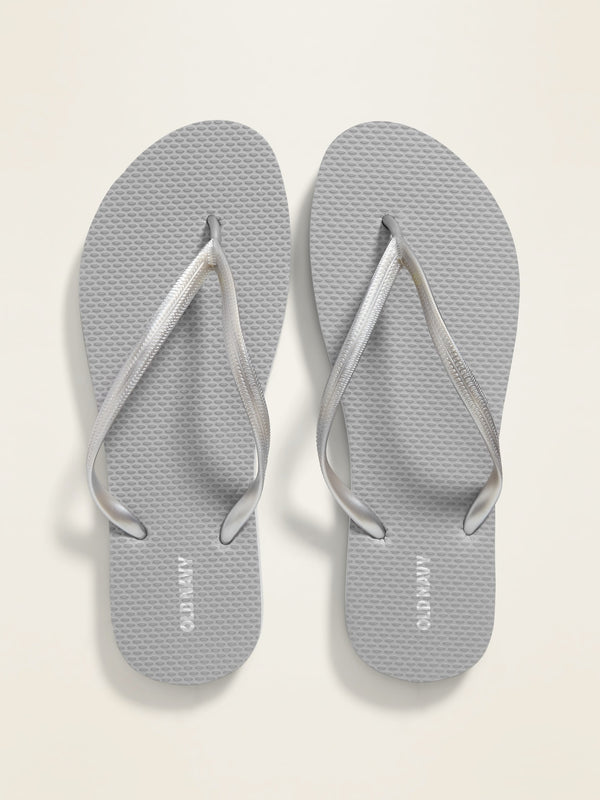 ON Classic Flip-Flops For Women - Silver