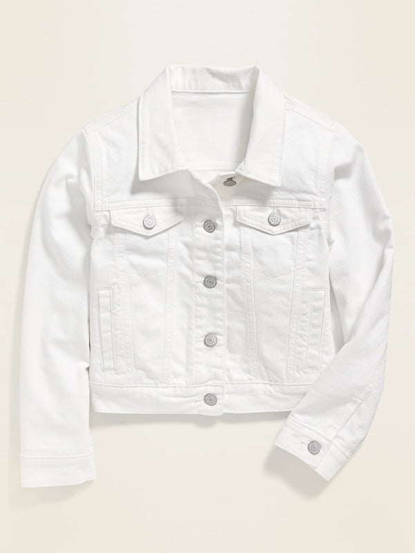 Jacket Denim -Bright White 2