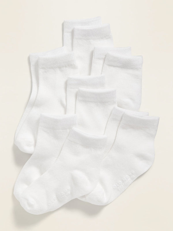 ON Accesorio 6-Pack Crew Socks For Baby - Uni
