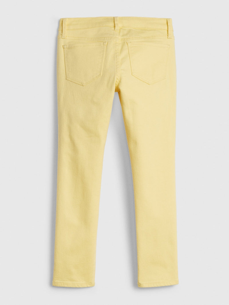 Denim Pant-YELLOW DENIM