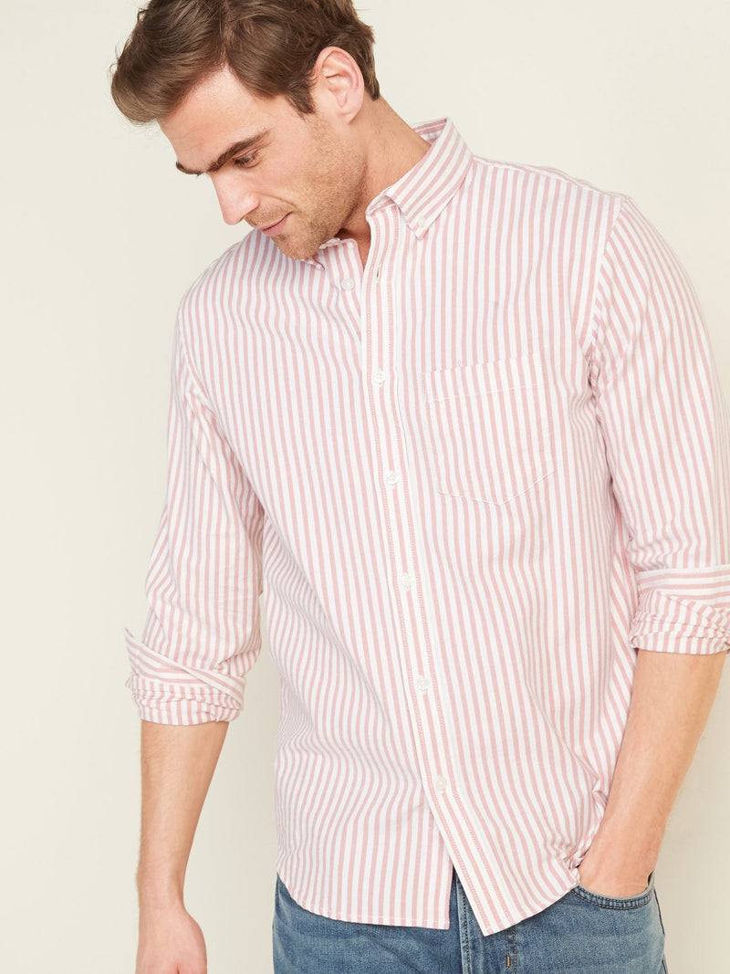 Camisa Manga Larga Reg Everyday Oxford-COCOA PINK