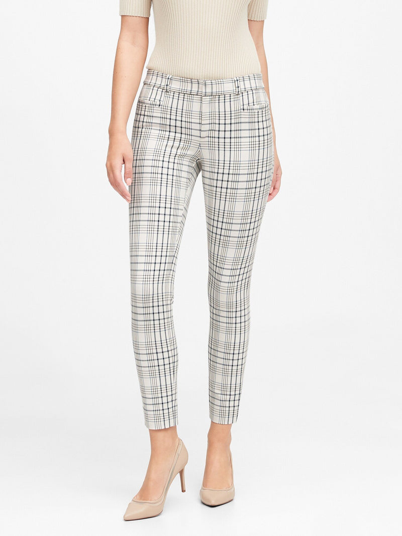 Pantalón-Modern Sloan Lexi Plaid-Blue Plaid