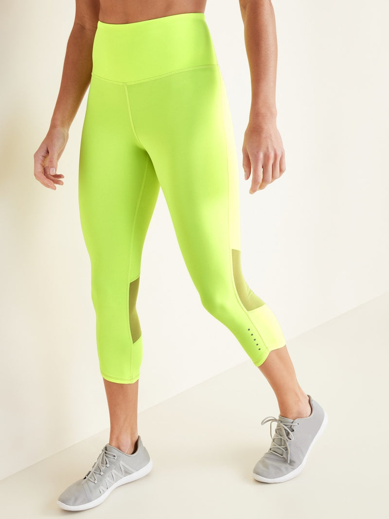 Pantalón Active -Elevate Run -Bright Lights Neo Poly (High Rise)