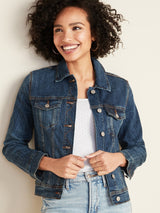 ON Jacket Jean Jacket For Women - Dark Authentic