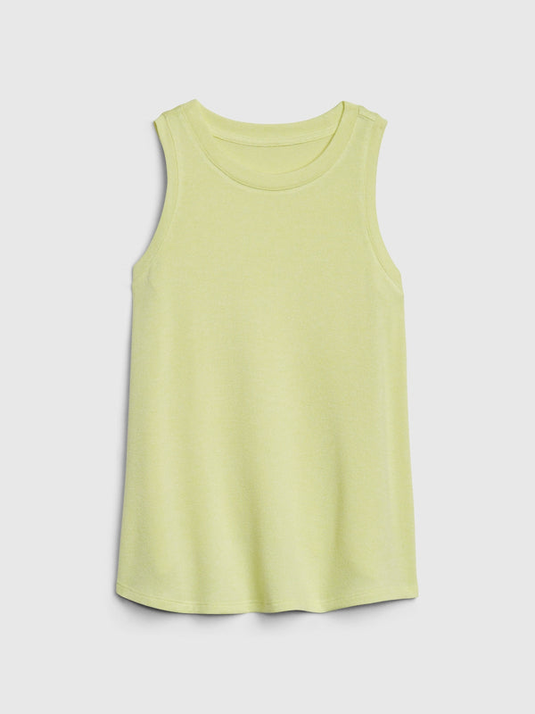 Gap Kids Softspun Knit Tank Top - Amarillo