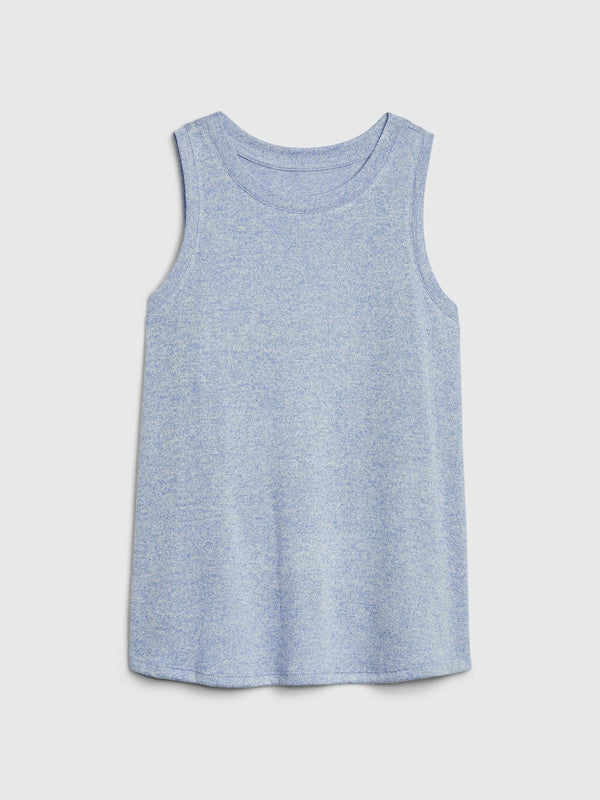 Gap Kids Softspun Knit Tank Top - Azul