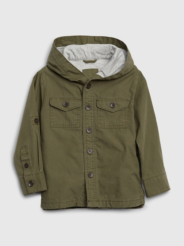 Gap Toddler Trek Jacket - Army Jacket Green