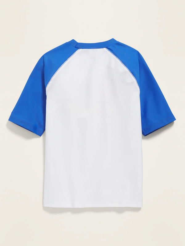 ON Traje de Baño Graphic Color-Blocked Rashguard for Boys - The Cerulean Life