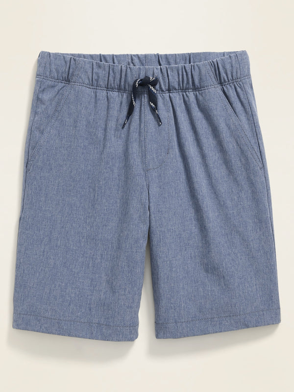 ON Built-In Flex Tech Jogger Shorts for Boys - Pacific Azul