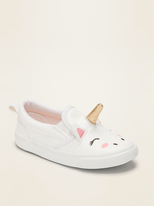ON Zapato Unicorn Slip-Ons For Toddler Girls - Unicorn