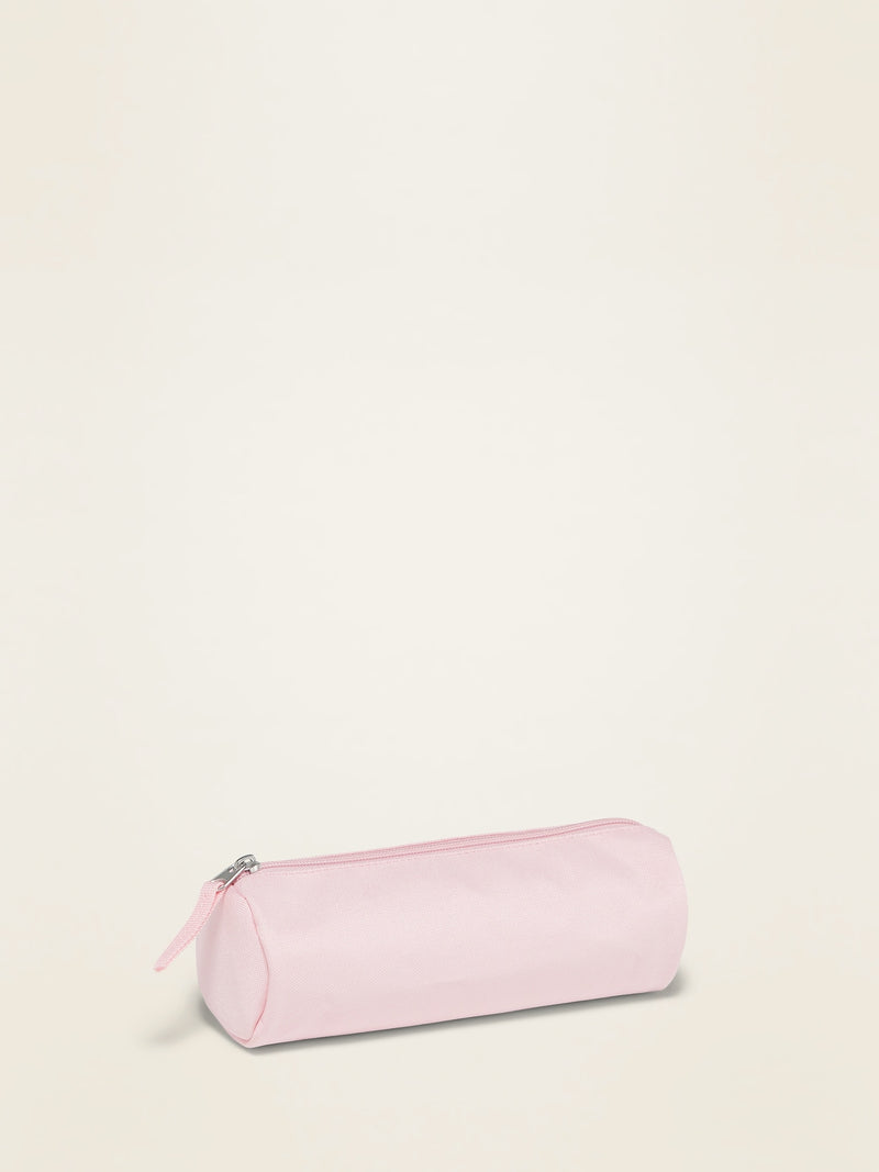 ON Zip-Top Pencil Case For Girls - Blush Hue