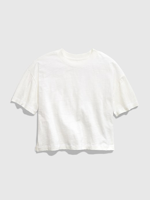 GAP Teen Boxy T-Shirt - Blanco