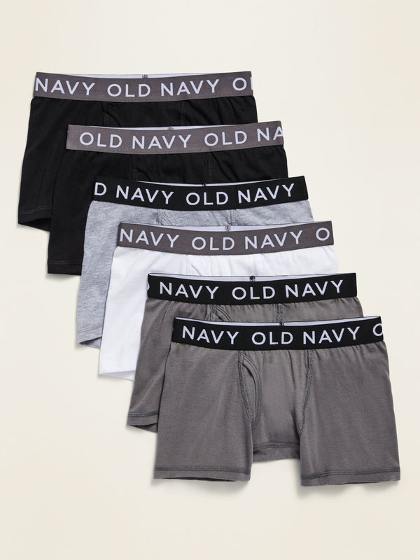 ON Boxer-Briefs 6-Pack For Boys - Neutral