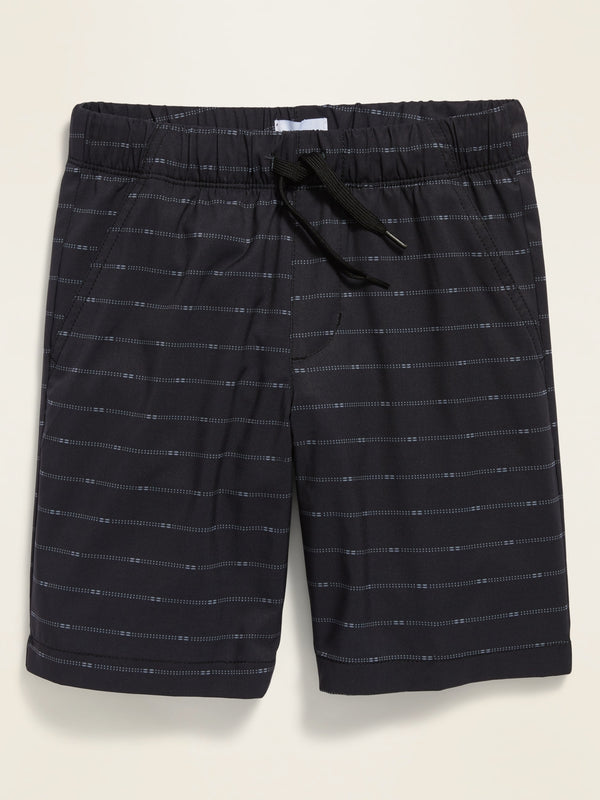 ON Built-In Flex Tech Jogger Shorts for Boys - Negro Print