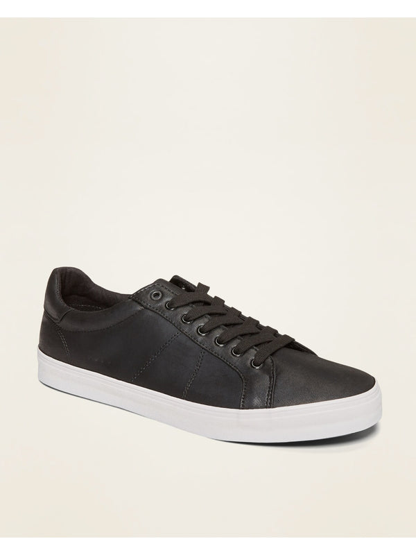 ON Faux-Leather Sneakers for Men - Black Jack