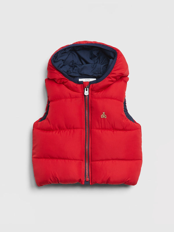 Gap Baby Coldcontrol Max Puffer Vest - Modern Red