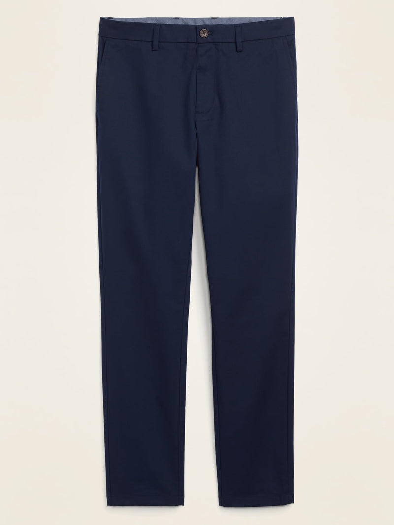 ON All-New Skinny Ultimate Built-In Flex Chinos For Men - In The Navy