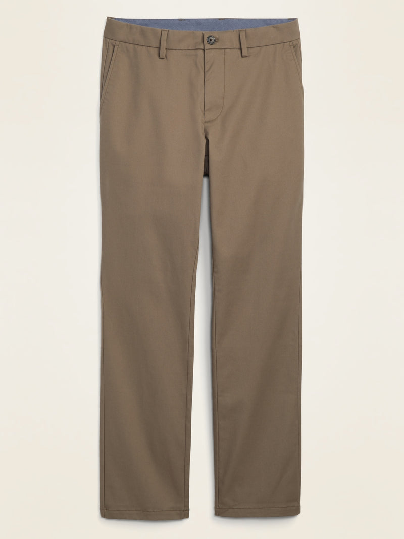 ON All-New Straight Ultimate Built-In Flex Chinos For Men - Weimaraner