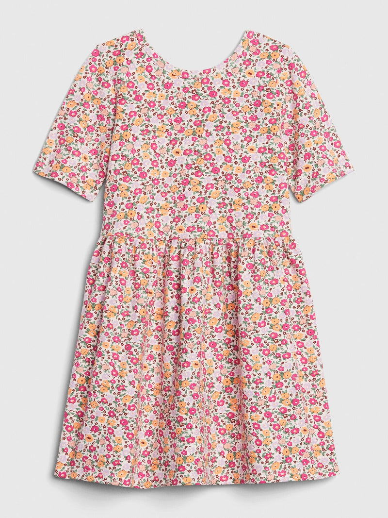 Gap Toddler Unicorn Skater Dress - Floral Print