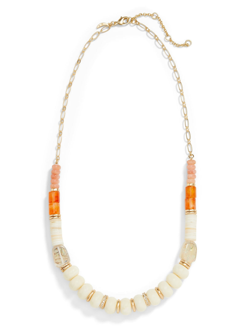 BR Mixed Bead Necklace - Multi