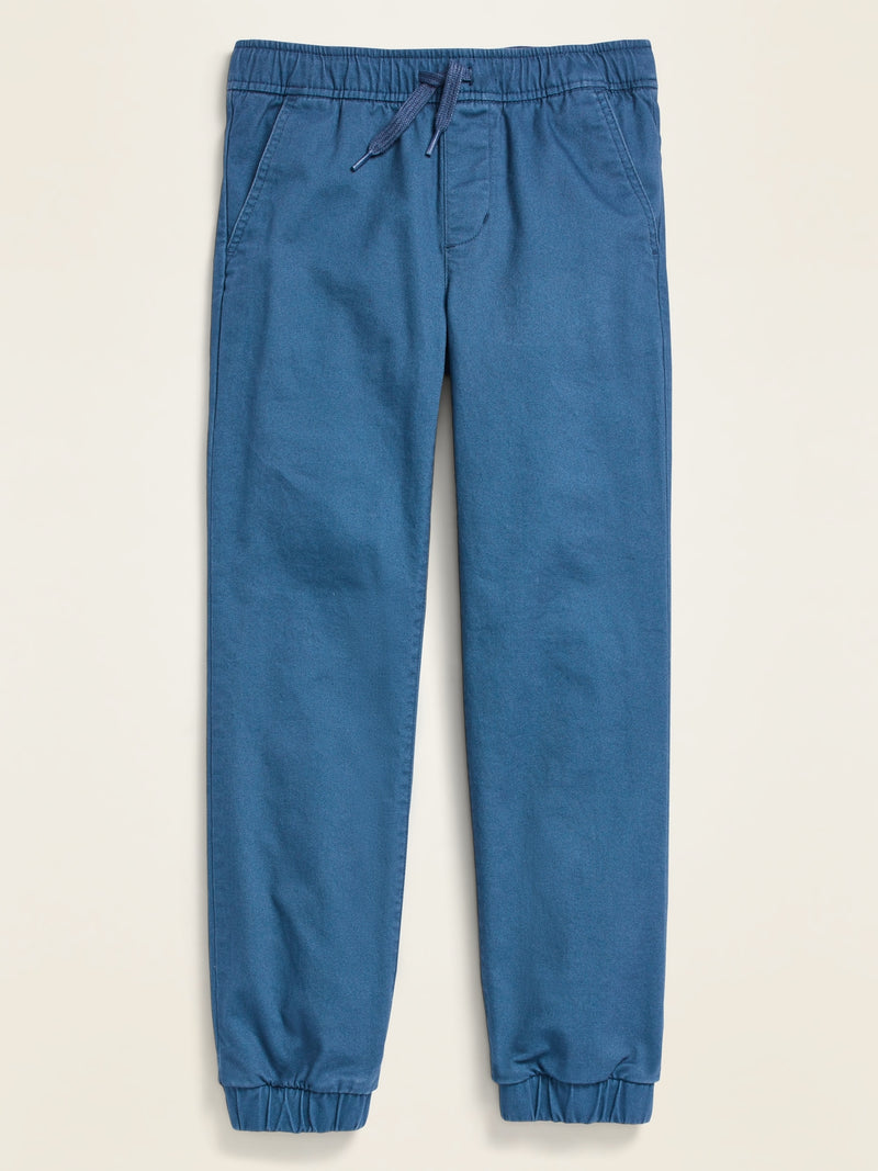 ON Built-In-Flex Twill Joggers for Boys - Evening Shadow