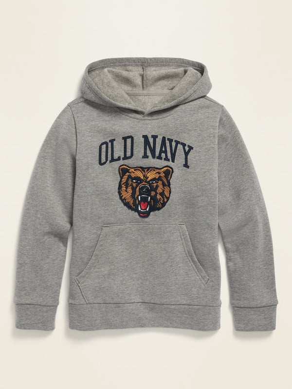 ON Logo-Graphic Pullover Hoodie for Boys - Bears 1