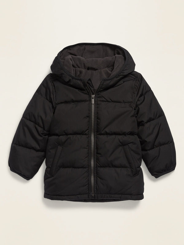 ON Unisex Frost-Free Hooded Puffer Jacket For Toddler - Blackjack Jas