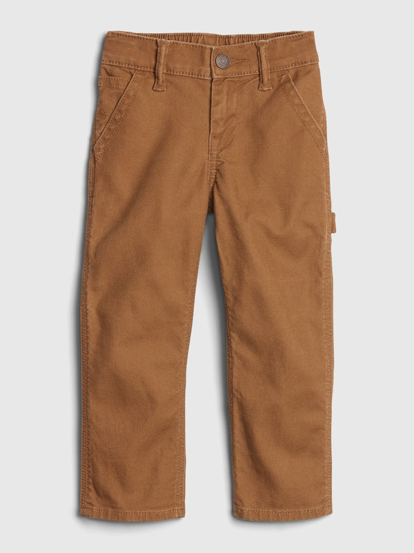 Gap Toddler Carpenter Straight Jeans With Stretch - Earthy Brown