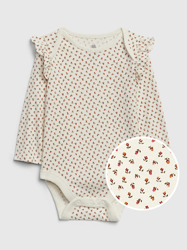 Gap Baby Mix And Match Printed Bodysuit - Yellow Sundown