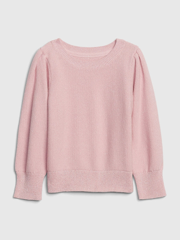 Gap Toddler Knit Sweater - Pure Pink