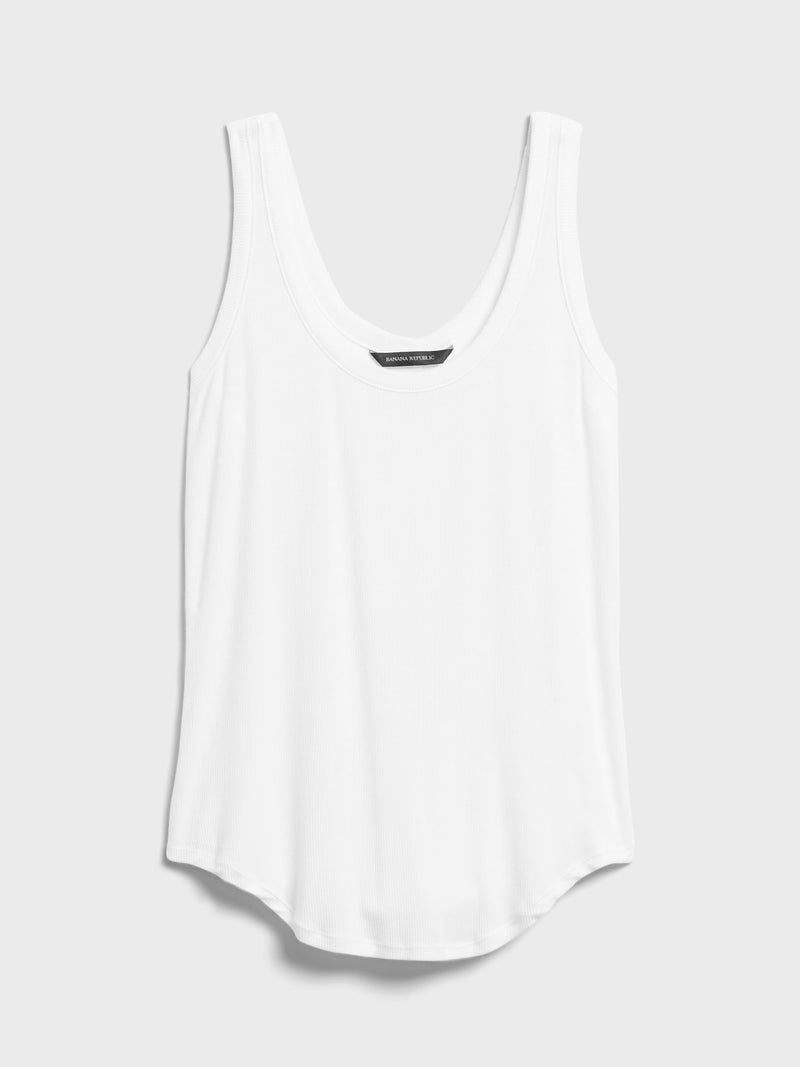 BR Top Essential Tank Top - Blanco
