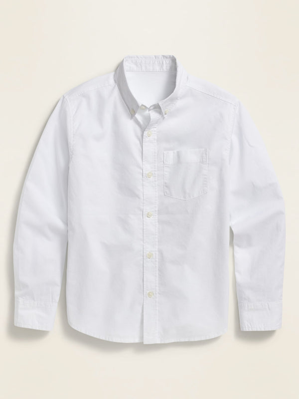 ON Built-In Flex Long-Sleeve Shirt For Boys - Calla Lily
