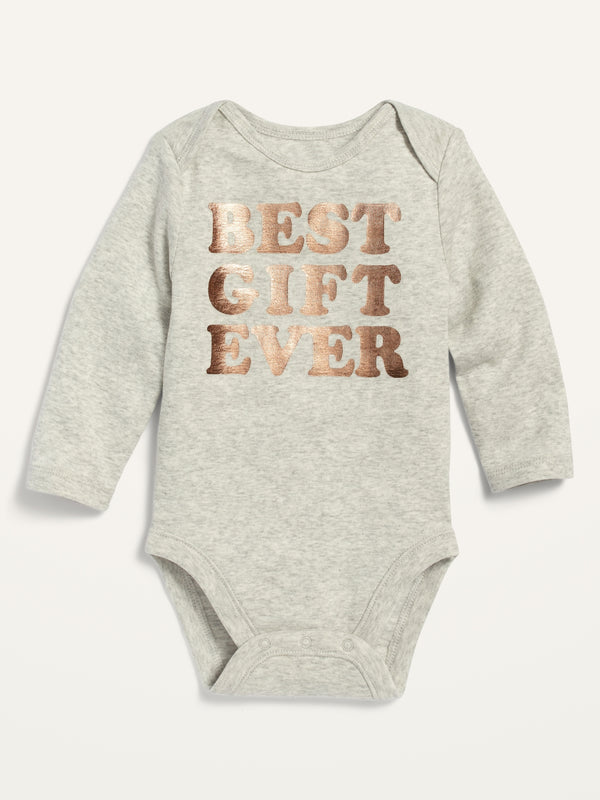 ON Graphic Long-Sleeve Bodysuit For Baby - Best