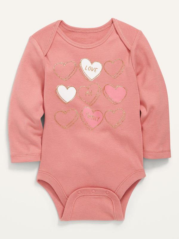 ON Graphic Long-Sleeve Bodysuit For Baby - Family