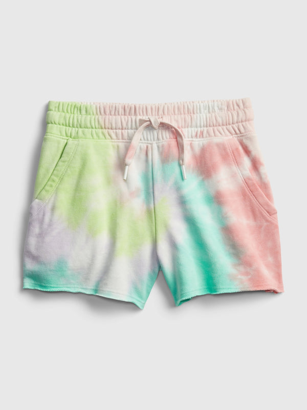Gap Kids High-Rise Pull-On Shorts - Multi Tie Dye