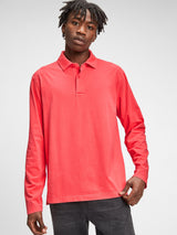 Gap Vintage Soft Polo Shirt - Weathered Red