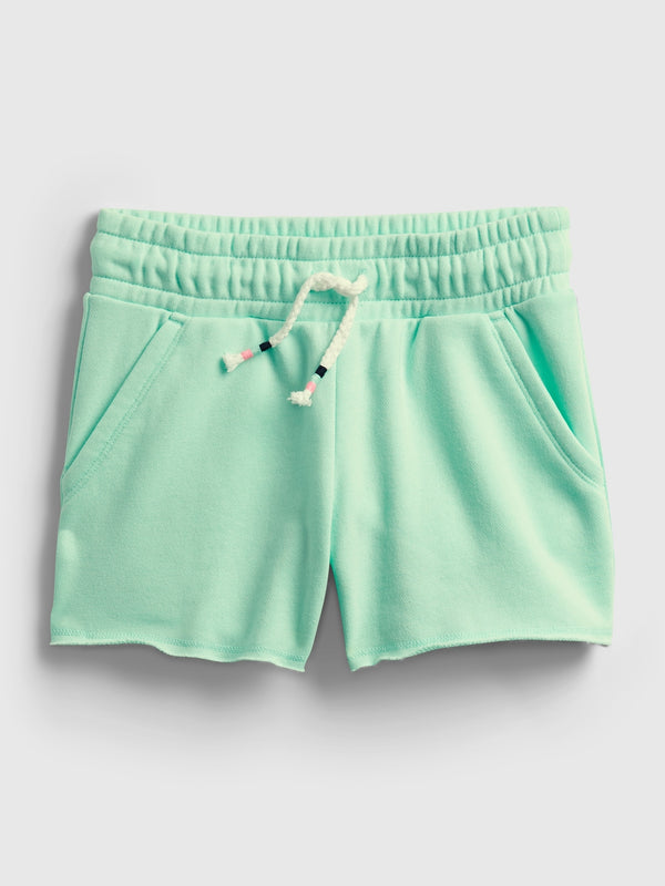 Gap Kids High-Rise Pull-On Shorts - Shore Blue