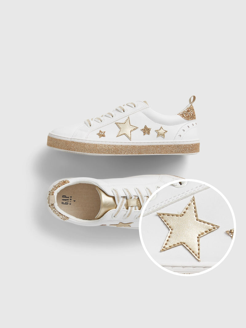 Gap Kids Star Sneakers - Fr White