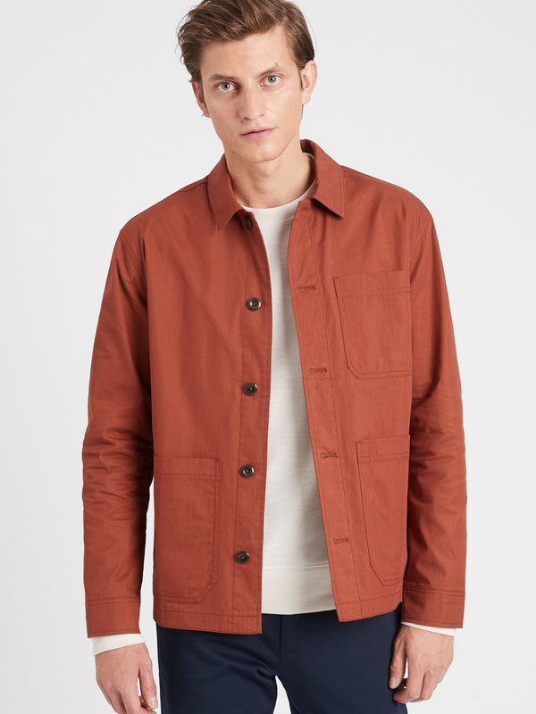 BR Water-Resistant Chore Coat - Copper Clay